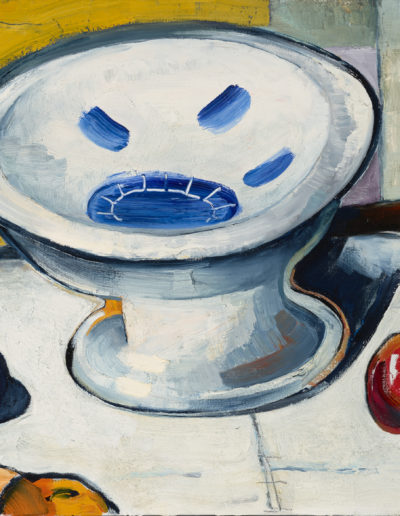 Empty Bowl 2016 36x18 oil on canvas